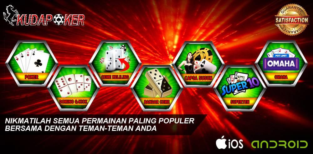 Sensasi Menarik Dari Bermain Poker Online Dengan Kudapoker