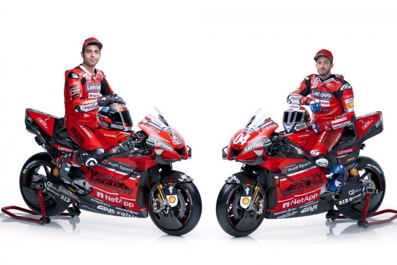 Tim Ducati Ungkapkan Sepeda MotoGP 2020